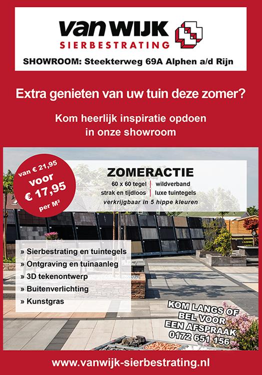 Van Wijk Sierbestrating - showroom tegels tuin terras verlichting ...