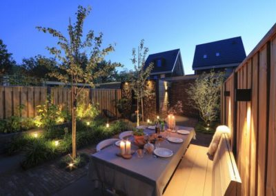 Sfeervol dineren in uw eigen tuin